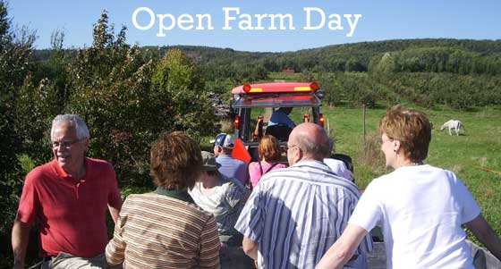 Joins us for Open Farm Day!